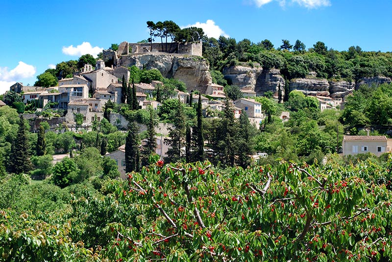 Le village du beaucet comtat venaissin monts de vaucluse for Restaurant le beaucet