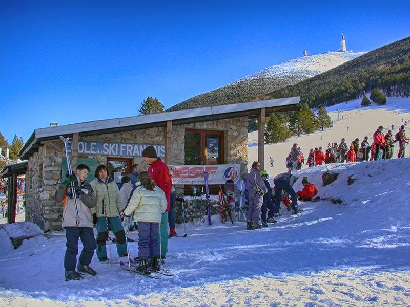le mont serein station de ski et station verte du mont ventoux