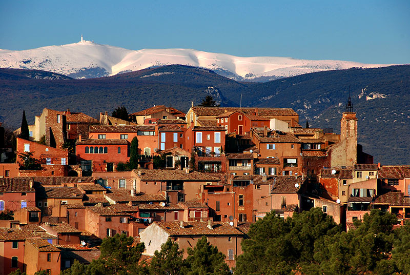 Roussillon Village Des Ocres Du Luberon