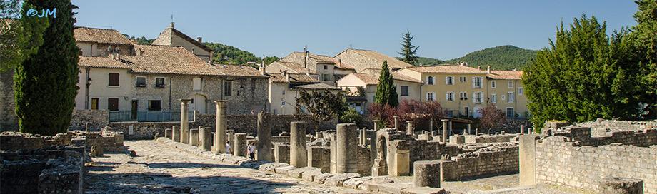 Vaison la romaine ville romaine fouille de la villas - Hotel vaison la romaine piscine ...