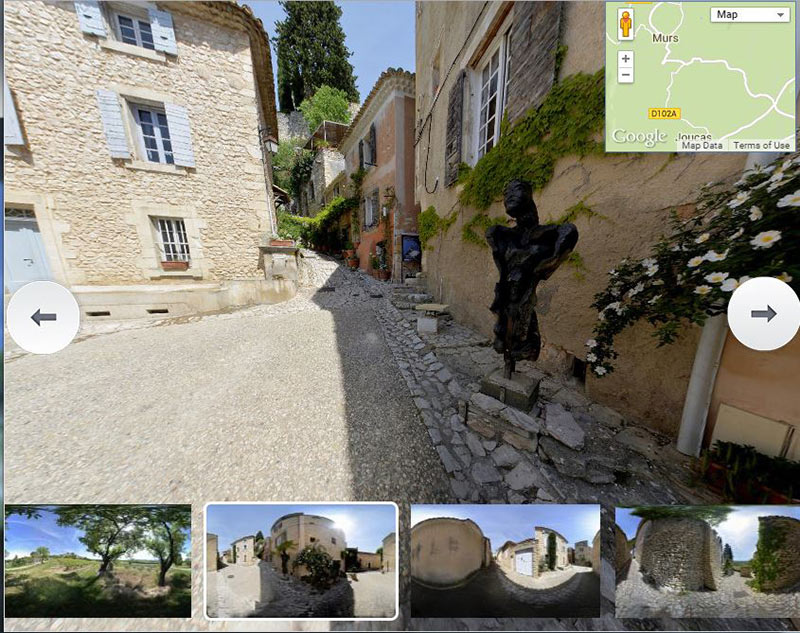 clic here to take a Joucas Virtual tour 360,Luberon,Vaucluse